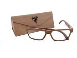 Gafas de Vista de Madera - Brown Eagle