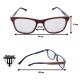 Wooden Glasses - Hawk