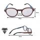 Wooden Glasses - Penguin
