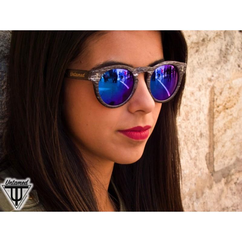 Wood Sunglasses Polarized  polarized wooden sunglasses blue caiman