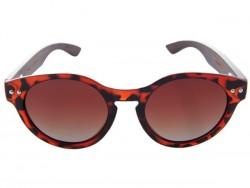 Gafas de Sol de Madera - Red Turtle