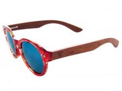 Gafas de Sol de Madera - Pink Seahorse