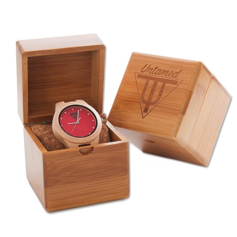 reloj de madera barcelona