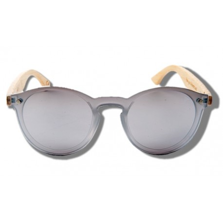 Silver Toucan - Wooden Sunglasses