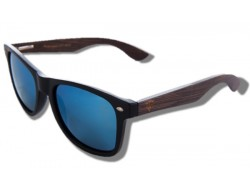 Polarized Wood Sunglasses - Black Gorilla