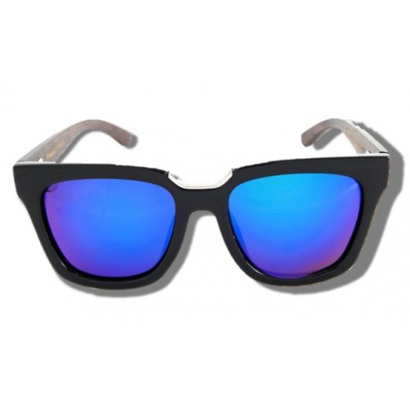 Polarized Wood Sunglasses - Purple Elephant