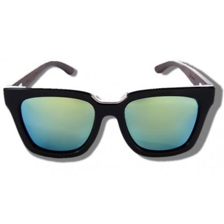 Polarized Wood Sunglasses - Elephant