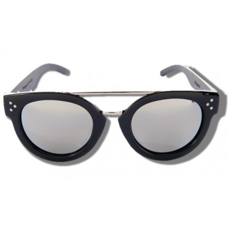 Gafas de Sol de Madera - Silver Shark