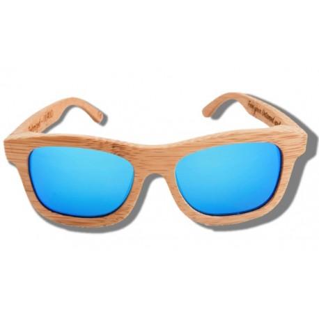 Gafas de Sol de Madera - Blue Lion