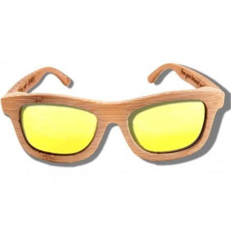 Gafas de Sol de Madera - Golden Lion