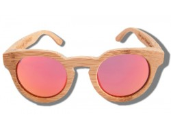 Gafas de Sol de Madera - Orange Tiger