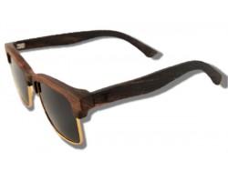 Gafas de Sol de Madera - Brown Panther
