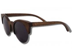 Polarized Wood Sunglasses - Cougar