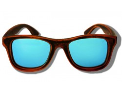 Polarized Wooden Sunglasses - Rhino