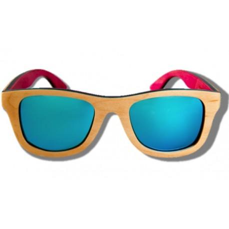 Gafas de Sol de Madera - Beige Chameleon