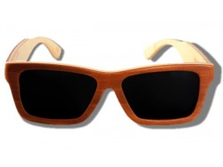 Gafas de Sol de Madera - Golden Arrow Frog
