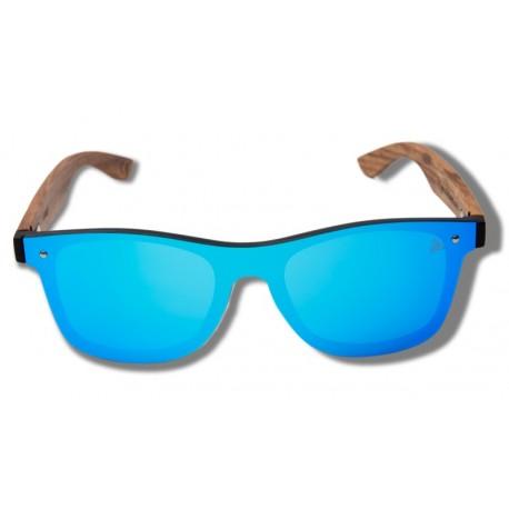 Blue Parrot - Wooden Sunglasses
