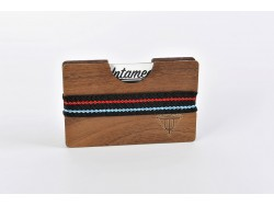 Wooden Card Holder - Walnut Wood