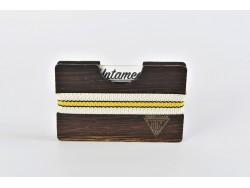 Wooden Card Holder - Wenge Wood