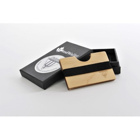 Wooden Card Holder - Maple Wood