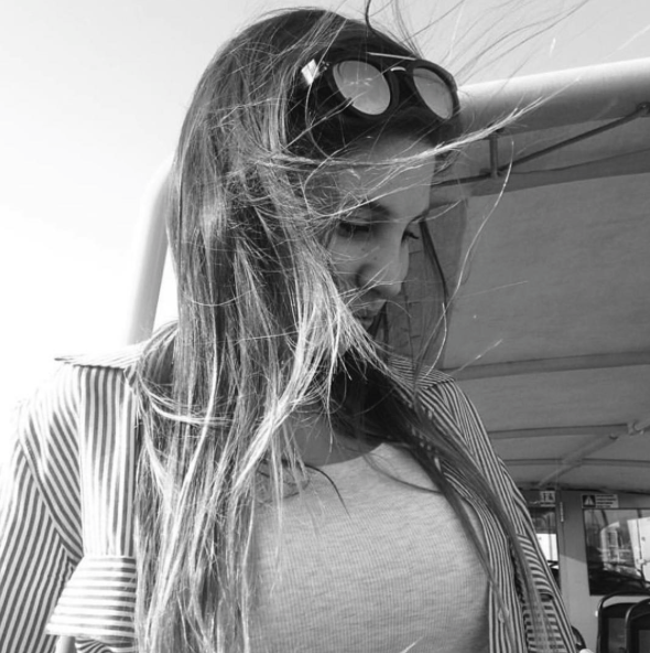 Gafas de sol de madera Silver Shark Marta Munmany - Modelo