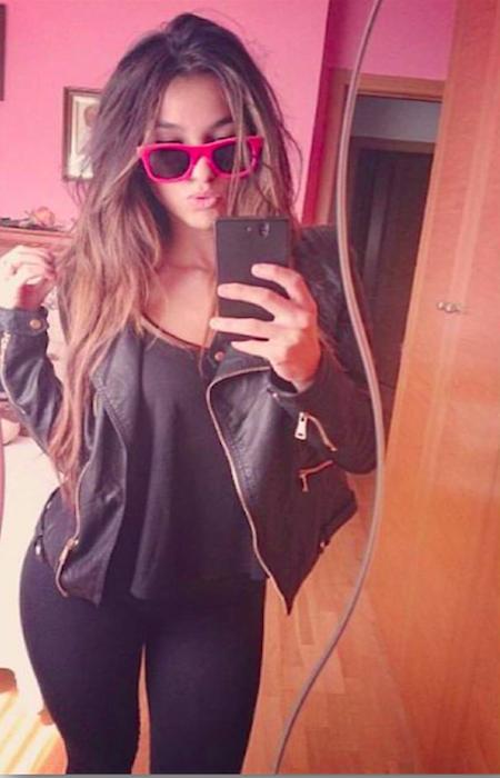 Gafas de sol de madera Flamingo Jennifer Lara - Modelo