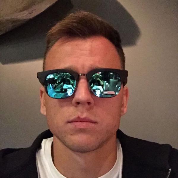 Gafas de sol de madera Black Panther Denis Cheryshev - Jugador del Villarreal C.F.