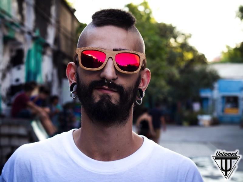 Gafas de Sol de Madera - Untamed World