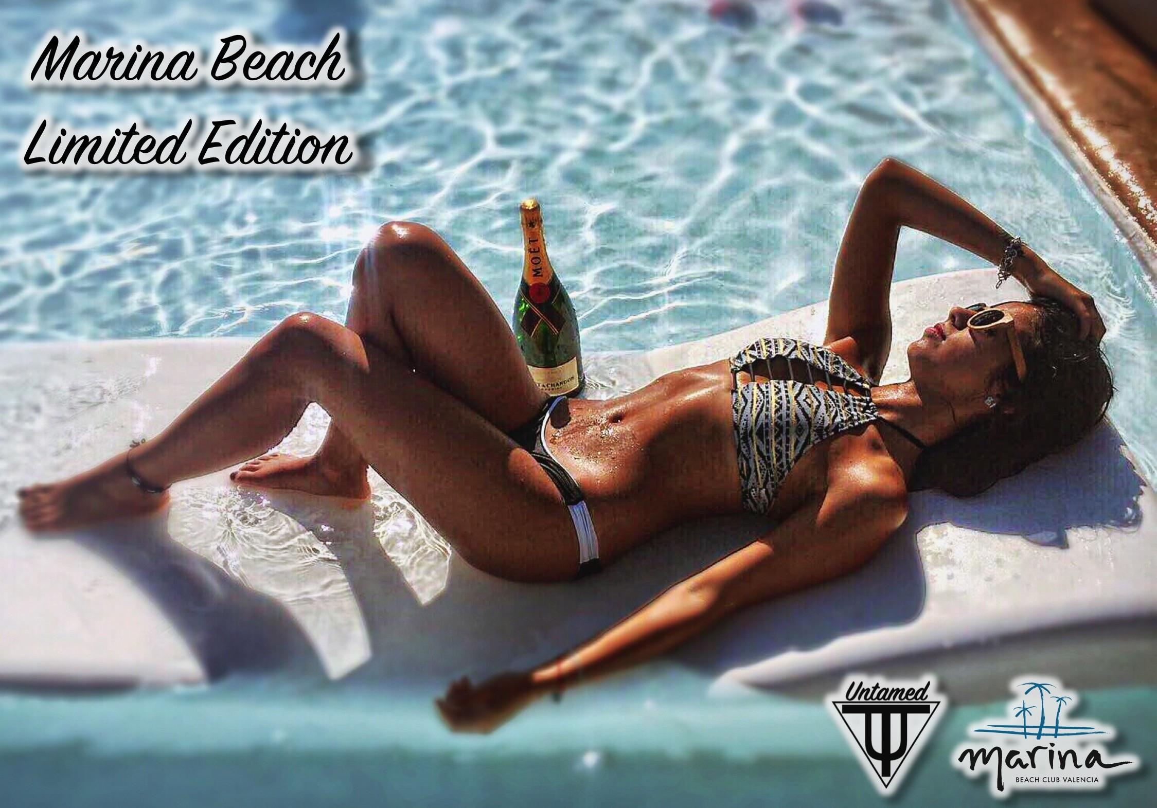 Handmade Wood Sunglasses - Untamed World x Marina Beach Club Valencia