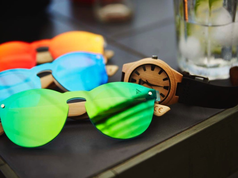 Toucan - Wooden Sunglasses - Untamed World