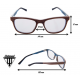 Gafas de Madera - Hawk