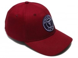Red Velvet Untamed Cap - Granate