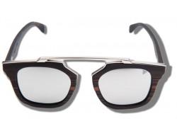 Silver Bear - Gafas de Sol de Madera Polarizadas