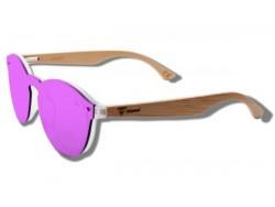 Pink Toucan - Gafas de Sol de Madera