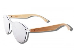 Silver Toucan - Wooden Sunglasses