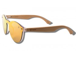 Orange Toucan - Wooden Sunglasses