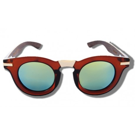 Polarized Wood Sunglasses - Koala