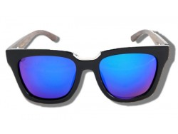 Polarized Wood Sunglasses - Purple Elephant