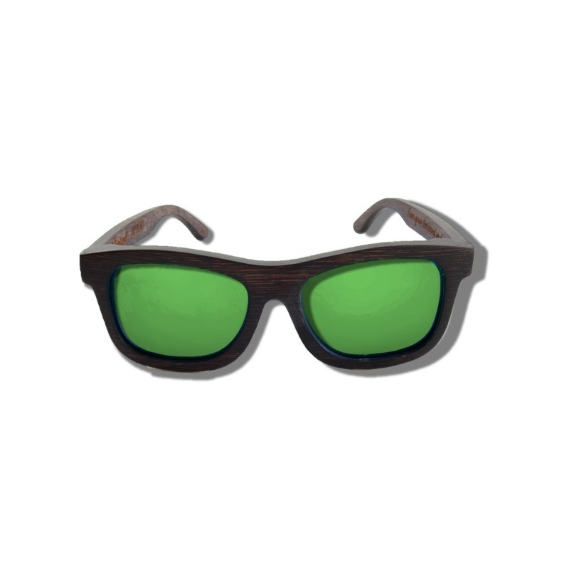 c175fd8c916 ... Polarized Wood Sunglasses - Green Grizzly ...