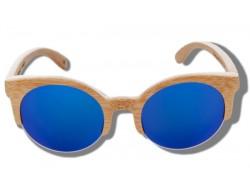Gafas de Sol de Madera - Blue Lynx