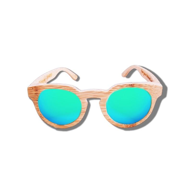 995a163e86 ... Polarized Wood Sunglasses - Blue Tiger ...