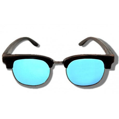 Polarized Wooden Sunglasses - Black Panther