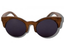 Polarized Wood Sunglasses - Cougar