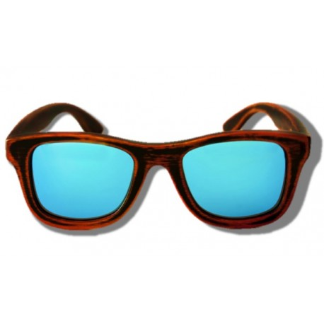 Polarized Wooden Sunglasses - Rhino