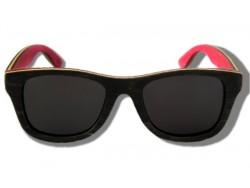 Gafas de Sol de Madera - Black Chameleon