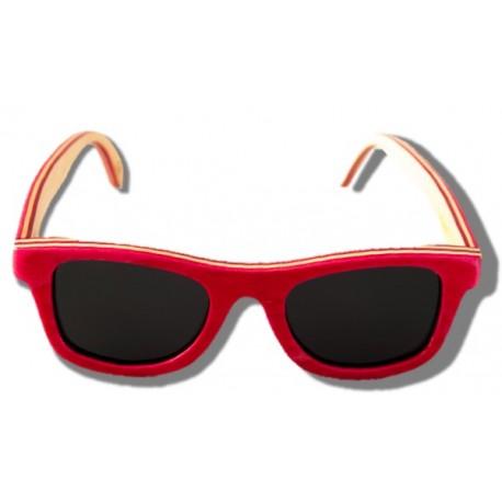 Gafas de Sol de Madera - Flamingo