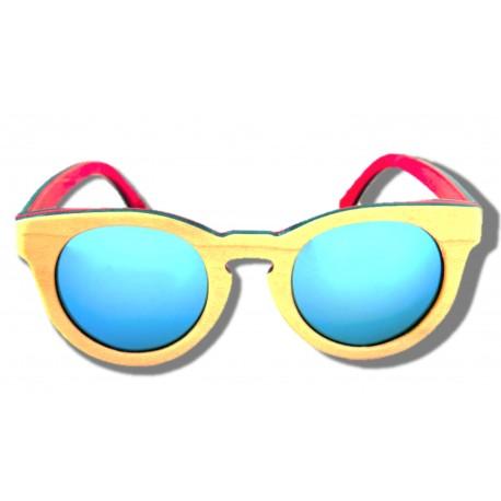 Gafas de Sol de Madera - Butterfly