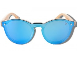 Blue Toucan - Wooden Sunglasses