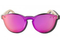 Pink Toucan - Wooden Sunglasses