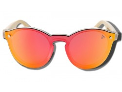 Orange Toucan - Gafas de Sol de Madera